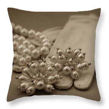 Elegant Lifestyle Throw Pillow by Patrice Zinck