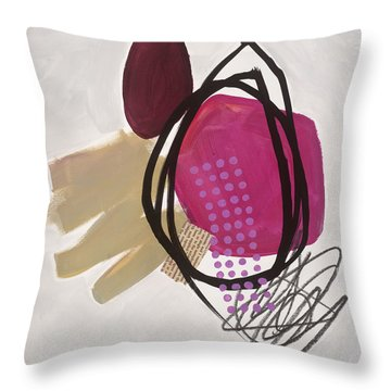Element # 7 Throw Pillow