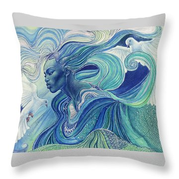 Element Of The Air Throw Pillow
