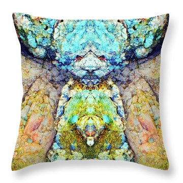 Elemental Being In Nature 1 Throw Pillow