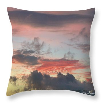 Elemental Designs Throw Pillow by Tim Fitzharris