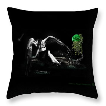 Elemental Sisters Part 1 Throw Pillow