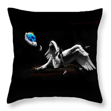 Elemental Sisters Part 2 Throw Pillow