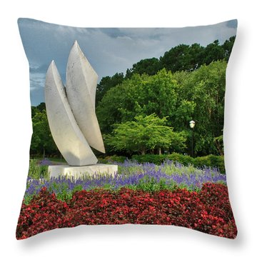 Elements At Avenue Of The Arts Throw Pillow