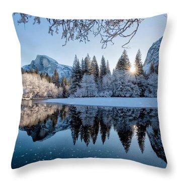 Granite Sunrise Throw Pillow