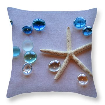 Elements Of The Sea Throw Pillow