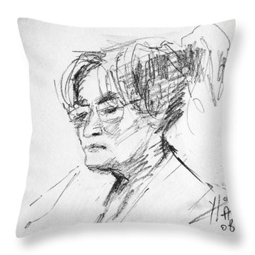 Eleni Throw Pillow