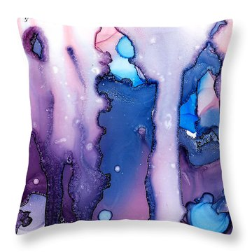 Elephants In Love Throw Pillow by Sir Josef - Social Critic - ART
