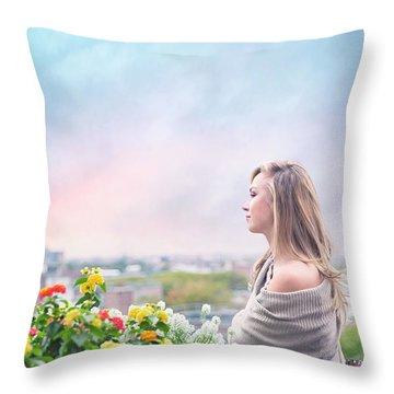 Elevate Your Senses Throw Pillow