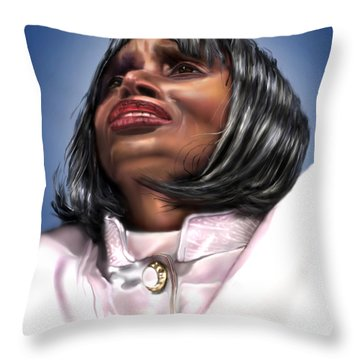 Elevated In His Glory Throw Pillow by Reggie Duffie