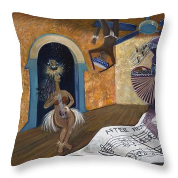 Eleven Minutes After Midnight Throw Pillow