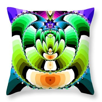 Elevilenix Throw Pillow