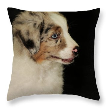 Elijah Blue Throw Pillow