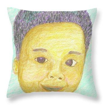 Elijah Throw Pillow