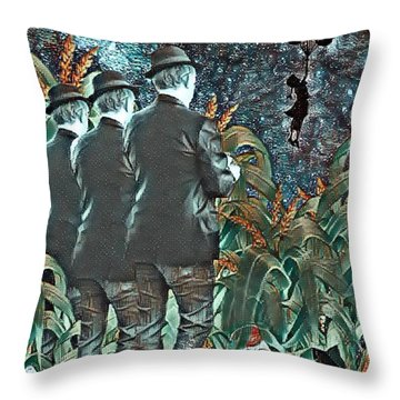 Elite Hide And Seek Throw Pillow