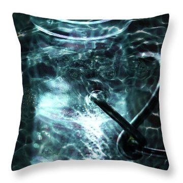 Throw Pillow featuring the photograph Elixar by Stephen Mitchell