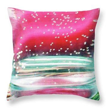 Throw Pillow featuring the photograph Elixir by Rebecca Harman