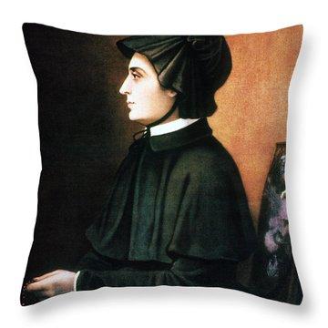 Elizabeth Ann Seton Throw Pillow