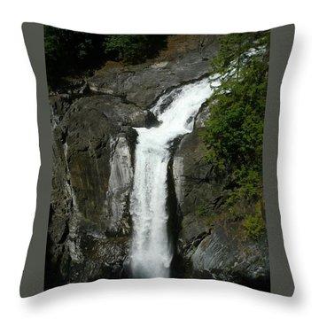 Elk Falls  Throw Pillow