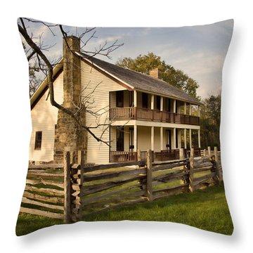 Elkhorn Tavern Throw Pillow by Lana Trussell