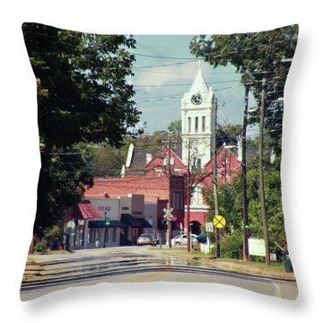 Ellaville, Ga - 2 Throw Pillow