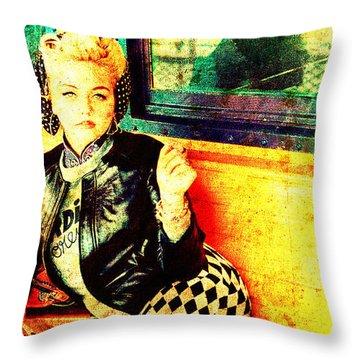 Elle King Throw Pillow