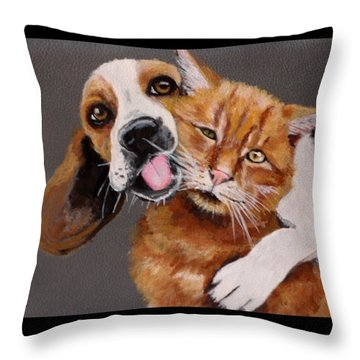 Ellen And Owen 2 Throw Pillow