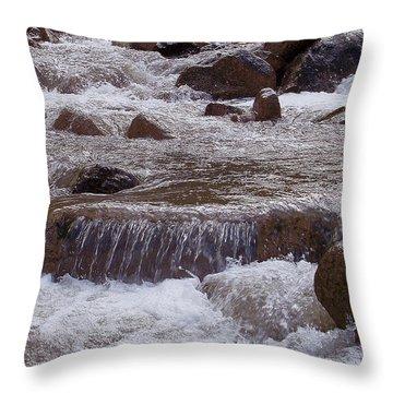 Ellenville Waterfall Throw Pillow