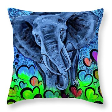 Elley  Throw Pillow