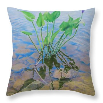 Ellie's Touch Throw Pillow