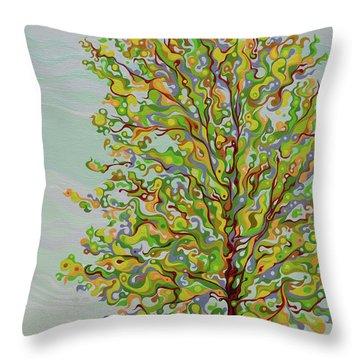 Ellie's Tree Throw Pillow