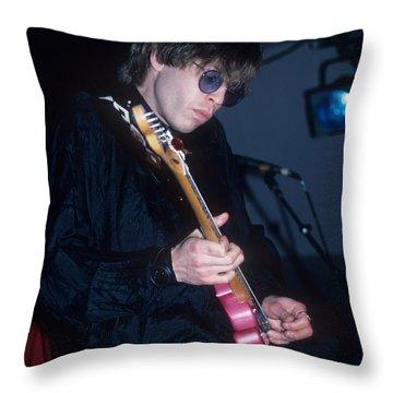 Elliot Easton Throw Pillow
