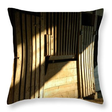 Ellwood Barn 1 Throw Pillow