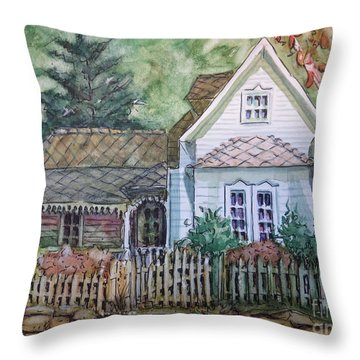 Elma's Home Throw Pillow