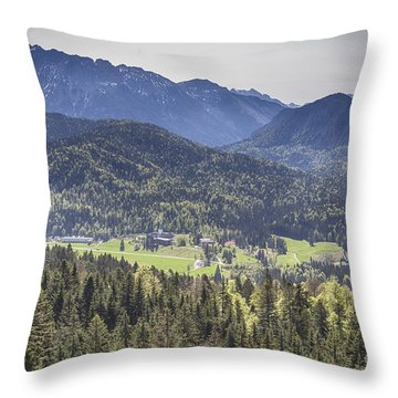 Elmau Throw Pillow