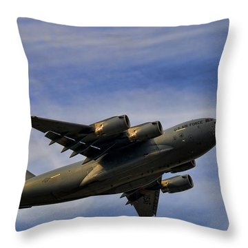 Elmendorf Third Wing Throw Pillow