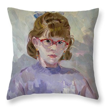 Elona Throw Pillow
