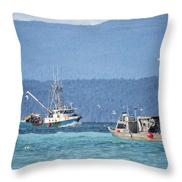Throw Pillow featuring the photograph Elora Jane by Randy Hall
