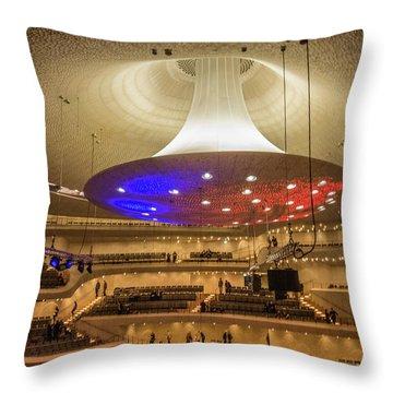 Elphi Hamburg Throw Pillow
