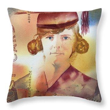 Elsie Circa 1915 Throw Pillow