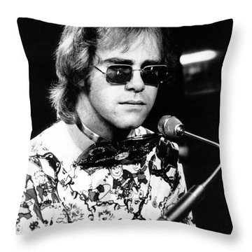 Elton John Throw Pillows
