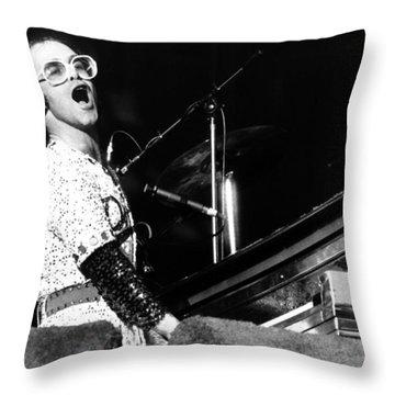 Elton John Throw Pillows