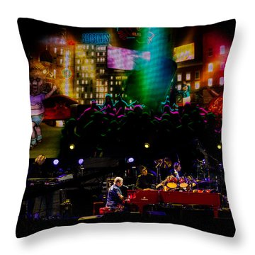 Elton - Sad Songs Throw Pillow