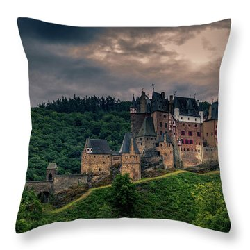 Eltz Castle Throw Pillow