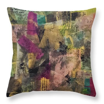 Elusive Throw Pillow