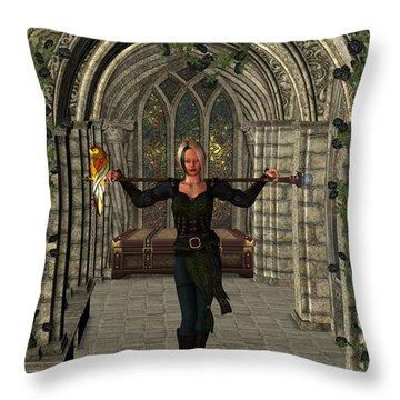 Elvin Hallway Throw Pillow