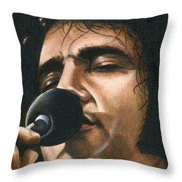 Elvis 24 1972 Throw Pillow by Rob De Vries