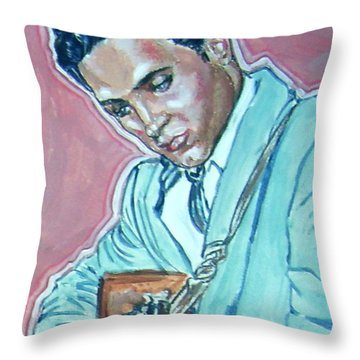 Elvis Presley Throw Pillow