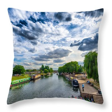 Ely Riverside Throw Pillow