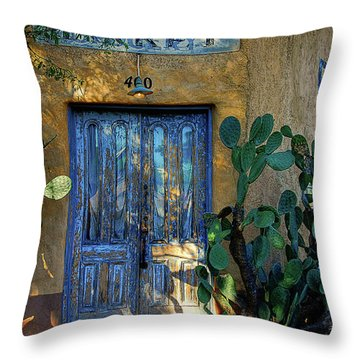 Elysian Grove In The Morning Throw Pillow by Lois Bryan